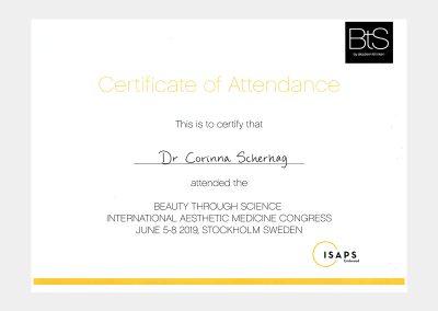 Beautymed Duisburg | Über uns > Qualitätssicherung | Zertifikat